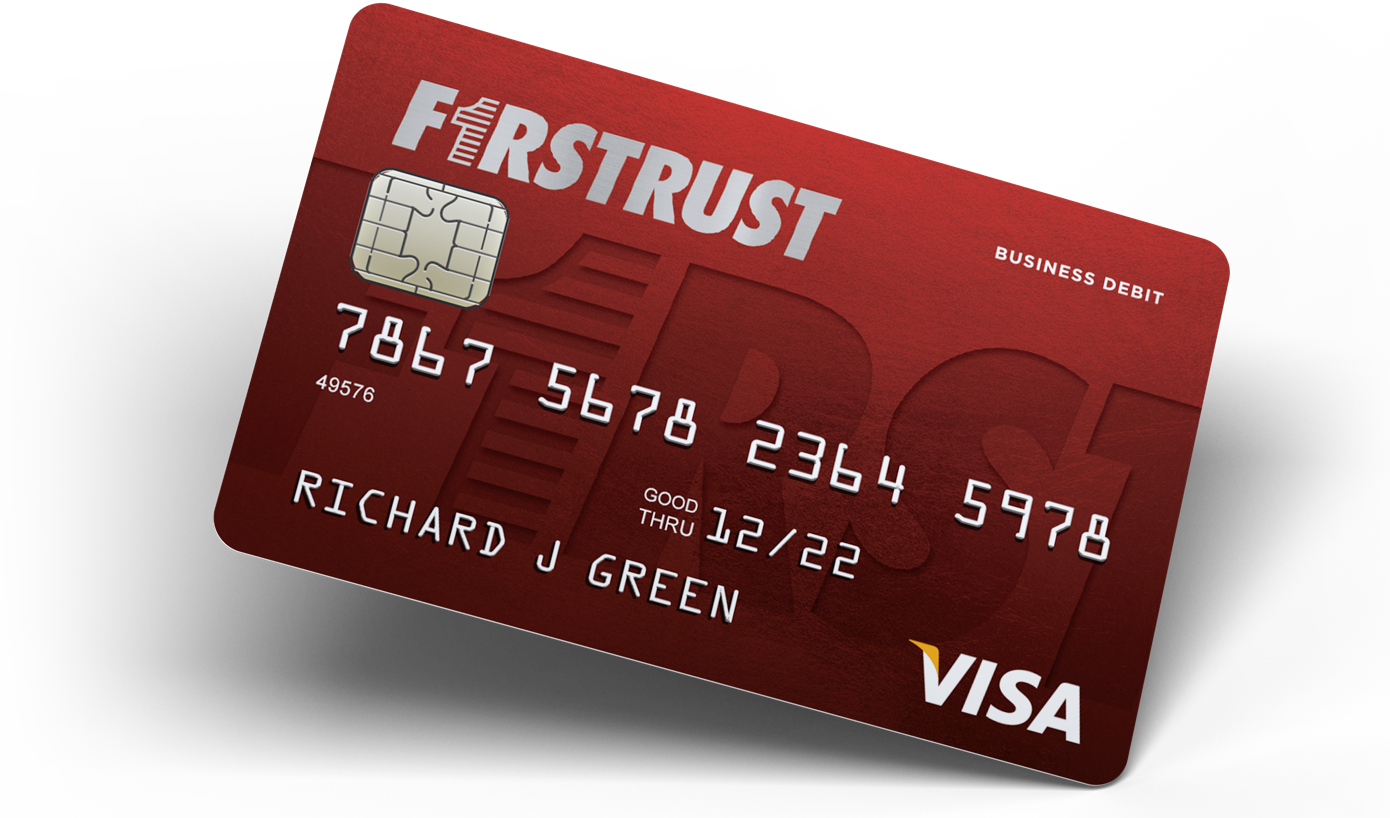 Firstrust business debit card