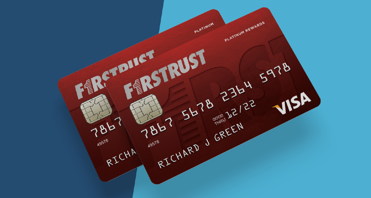 Two Firstrust credit cards