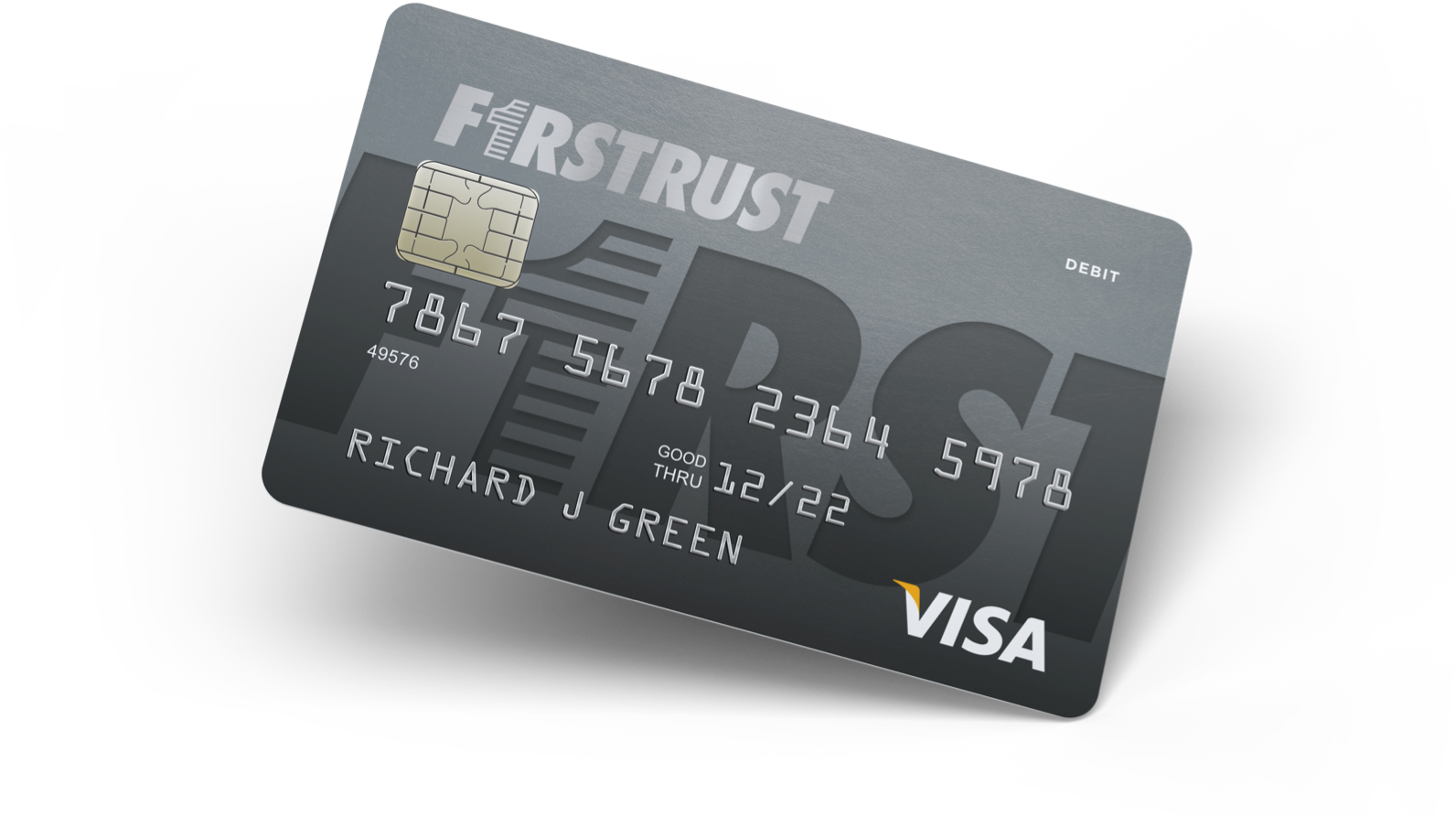Firstrust debit card