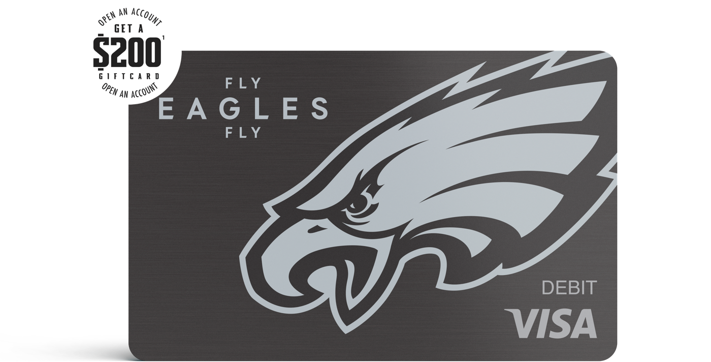 Eagles Firstpay Premier Card $200 gift card offer